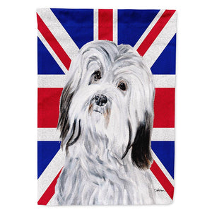 Buy this Havanese with English Union Jack British Flag Flag Garden Size SC9874GF