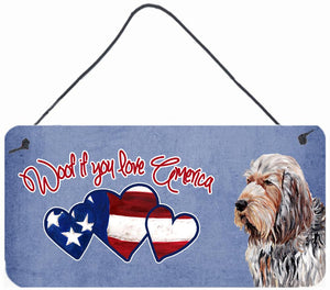 Buy this Woof if you love America Otterhound Wall or Door Hanging Prints SC9908DS612