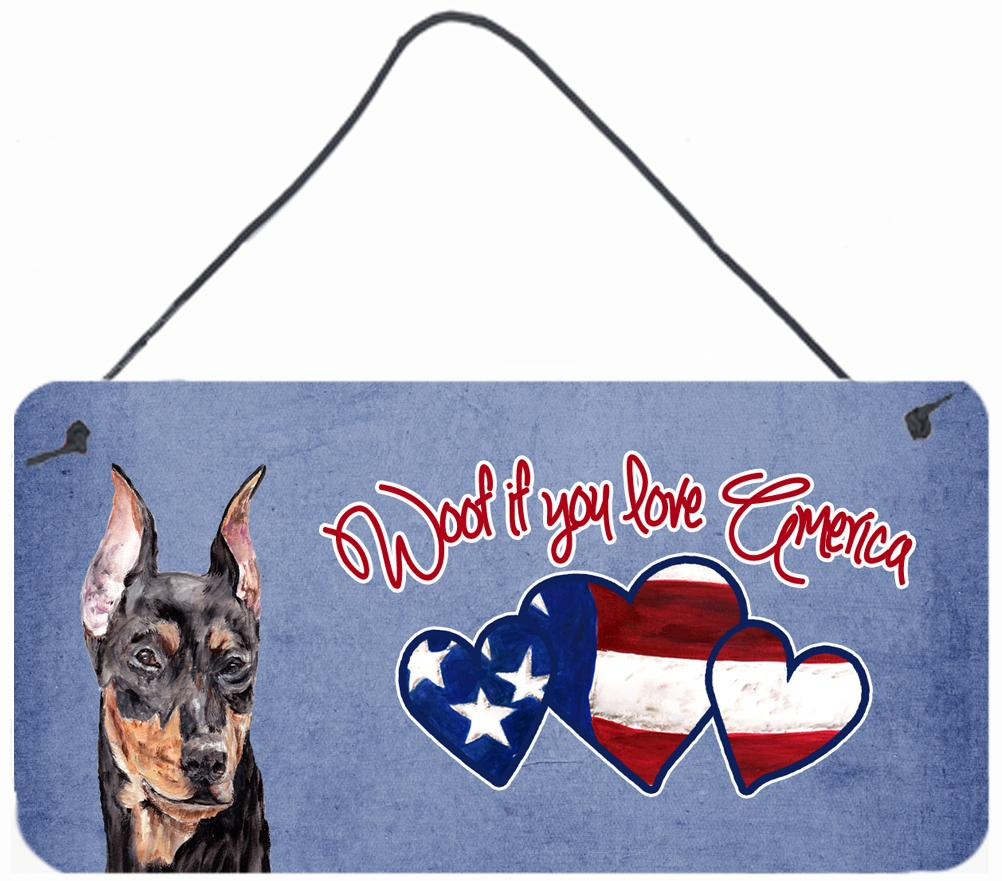 Buy this Woof if you love America German Pinscher Wall or Door Hanging Prints SC9916DS612