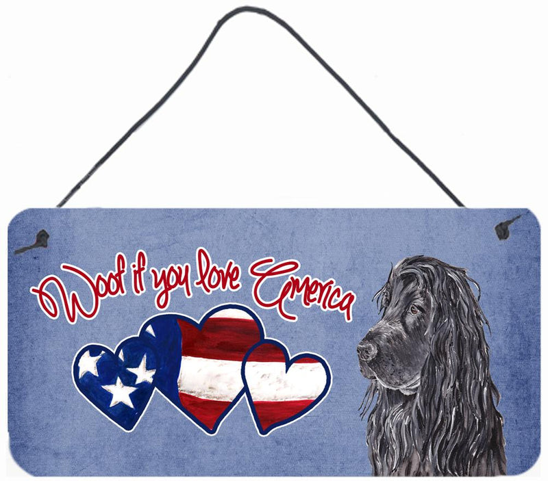 Buy this Woof if you love America Poodle Wall or Door Hanging Prints SC9921DS612