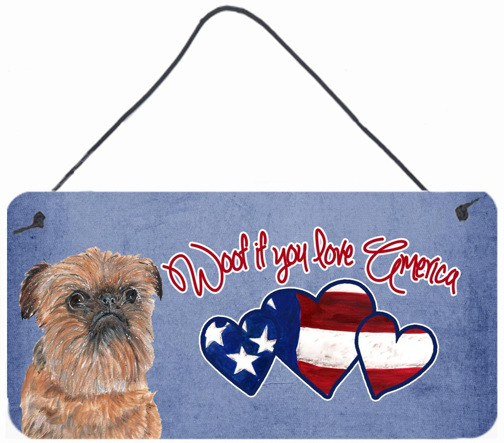 Buy this Woof if you love America Brussels Griffon Wall or Door Hanging Prints