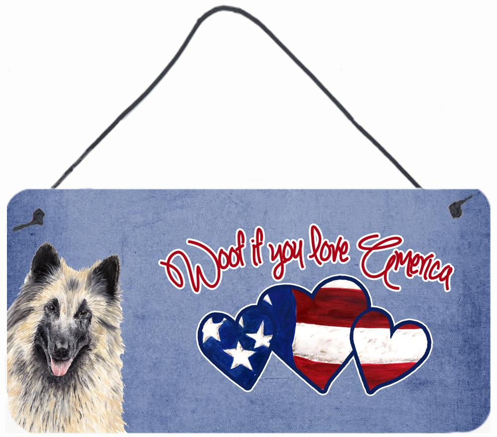 Buy this Woof if you love America Belgian Tervuren Wall or Door Hanging Prints