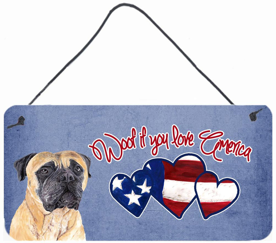 Buy this Woof if you love America Mastiff Wall or Door Hanging Prints SC9944DS612