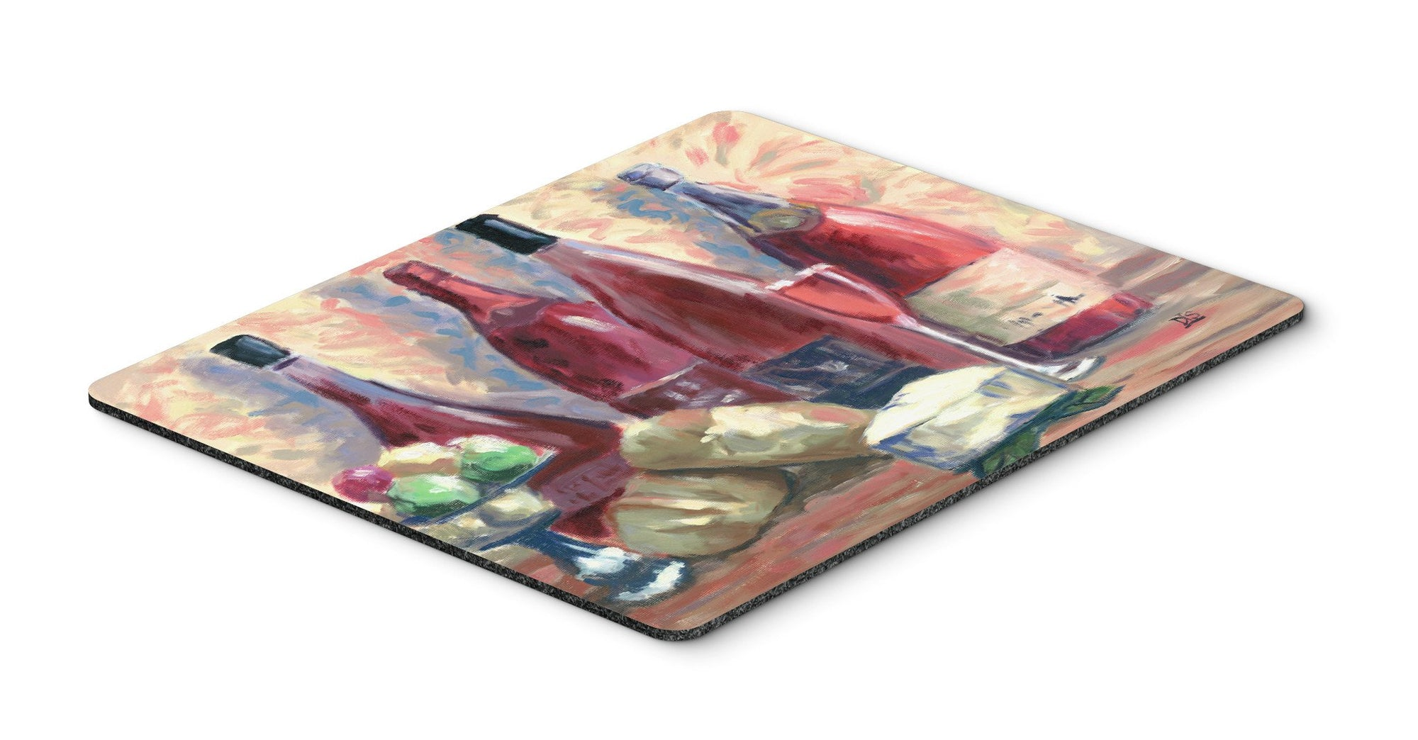 Buy this Wine and Cheese by David Smith Mouse Pad, Hot Pad or Trivet SDSM0127MP
