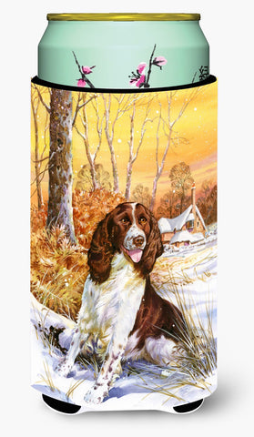 Buy this Springer Spaniel by Don Squires Tall Boy Beverage Insulator Hugger SDSQ0388TBC