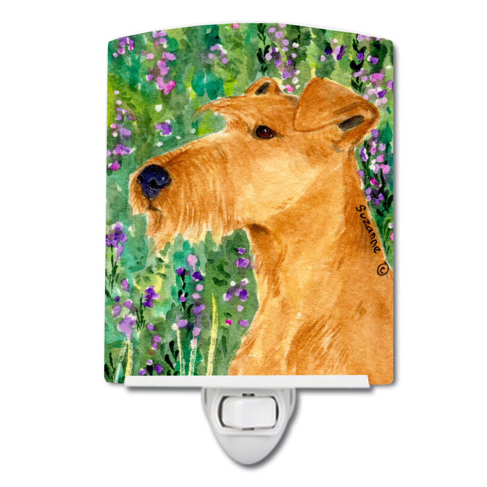 Irish Terrier Ceramic Night Light SS1004CNL by Caroline's Treasures