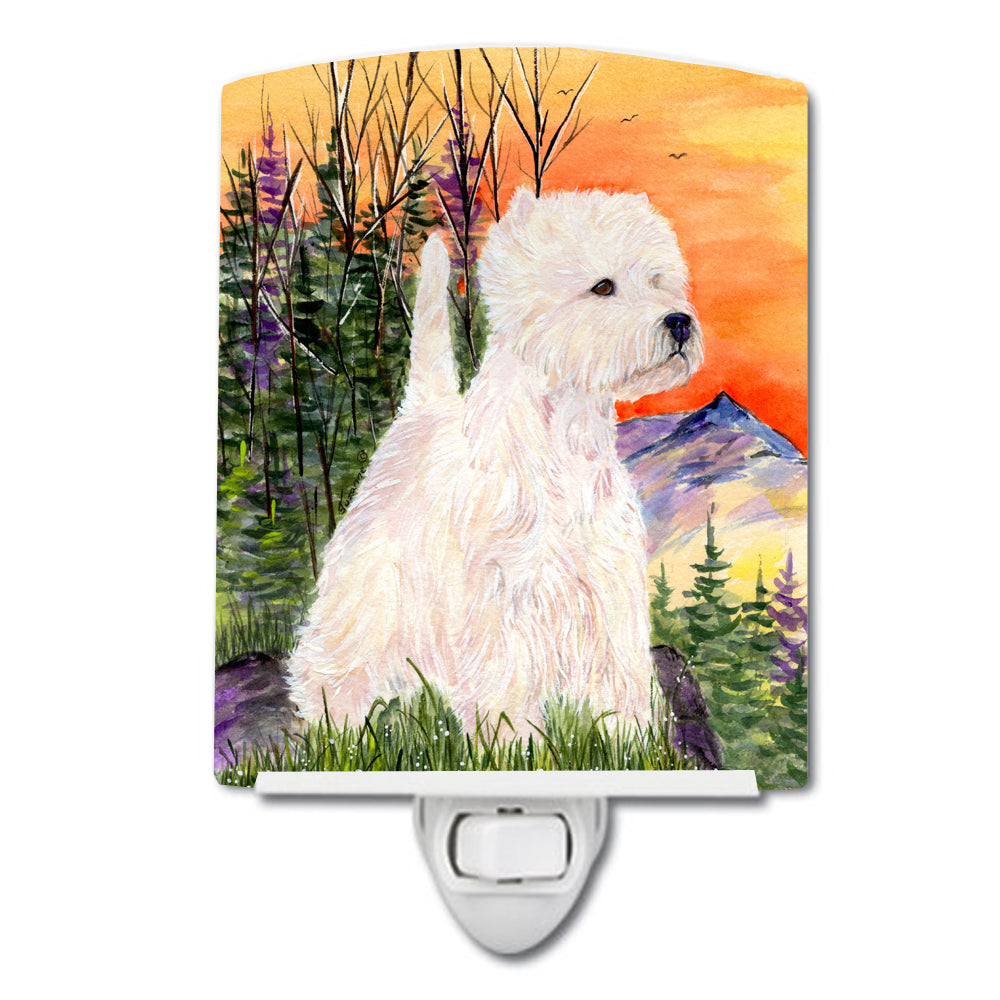 Buy this Westie Ceramic Night Light SS1013CNL