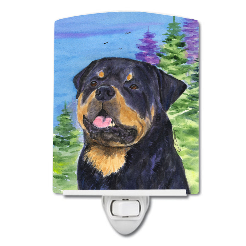 Buy this Rottweiler Ceramic Night Light SS1026CNL