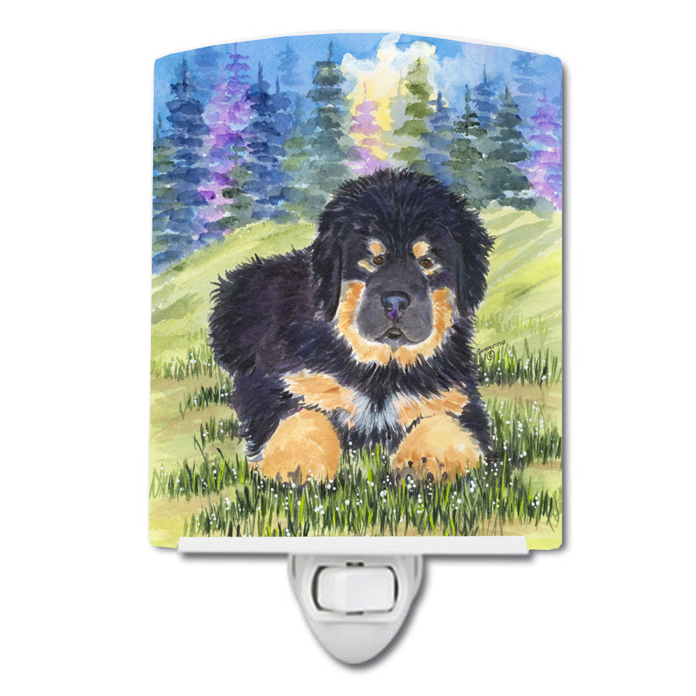 Tibetan Mastiff Ceramic Night Light SS1037CNL by Caroline's Treasures