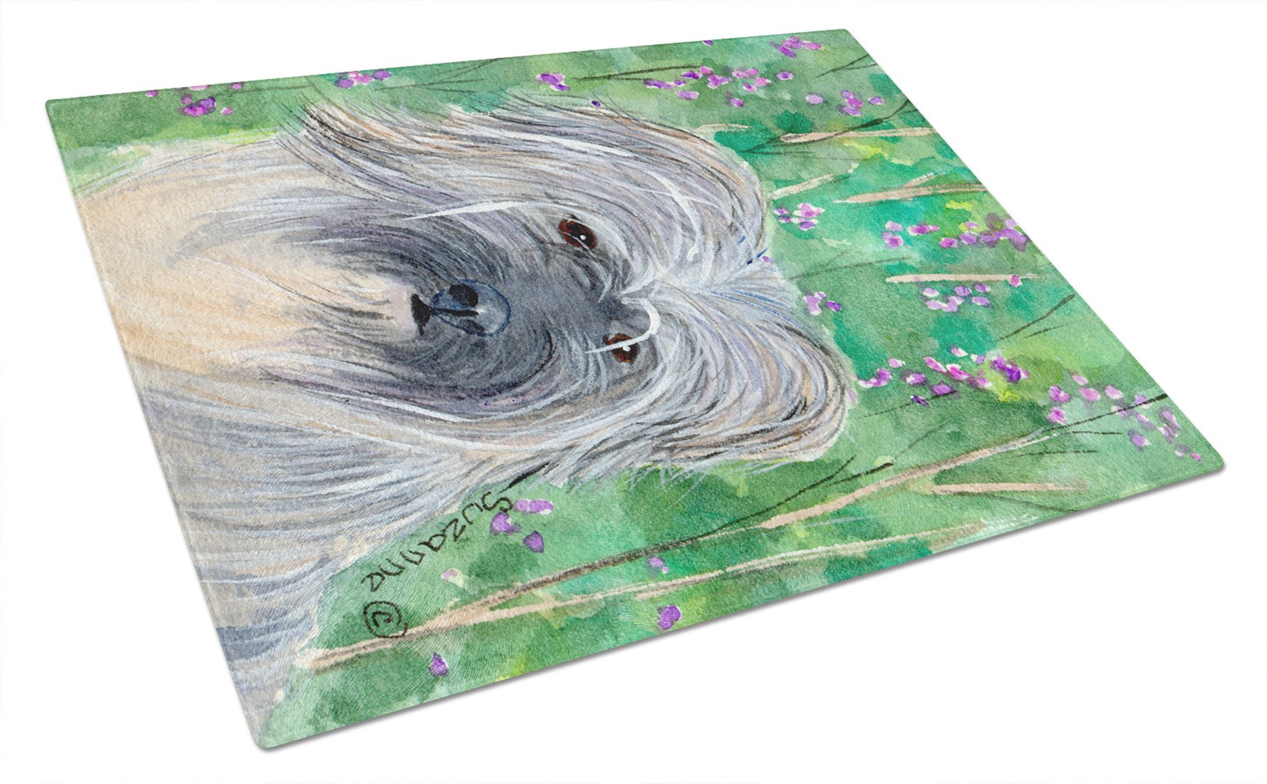 Berger des Pyrenese Glass Cutting Board Large - the-store.com
