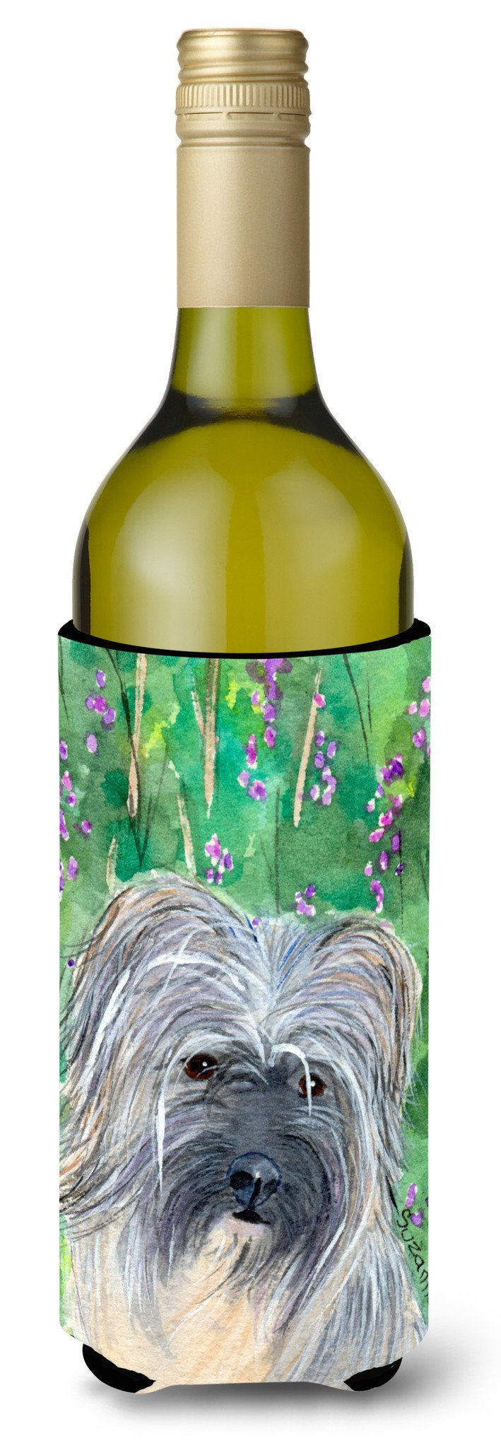 Buy this Berger des Pyrenese Wine Bottle Beverage Insulator Beverage Insulator Hugger