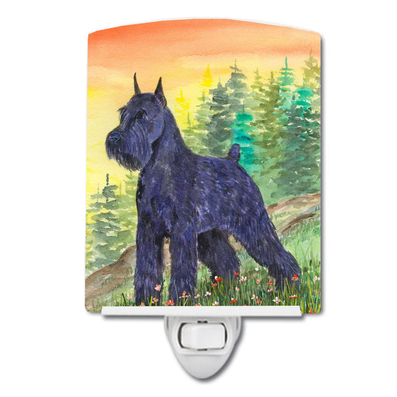 Buy this Schnauzer Ceramic Night Light SS1051CNL