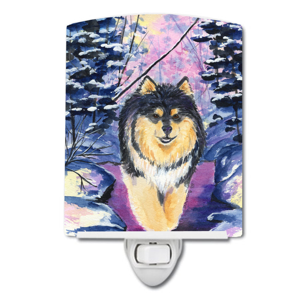 Buy this Finnish Lapphund Ceramic Night Light SS1054CNL