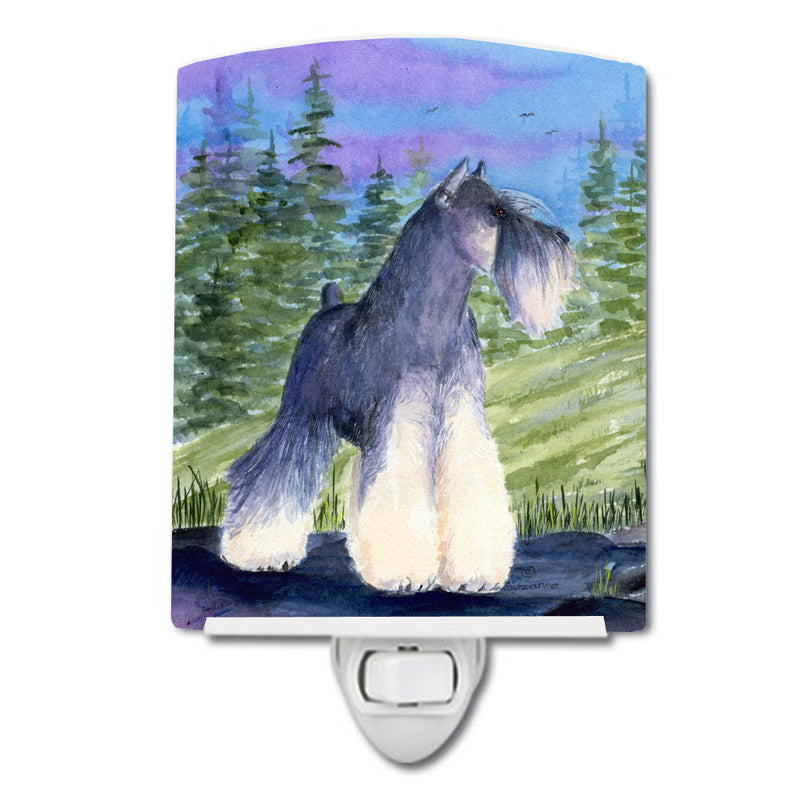 Buy this Schnauzer Ceramic Night Light SS1061CNL