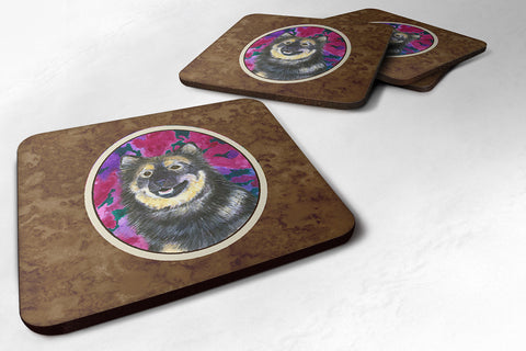 Buy this Set of 4 Finnish Lapphund Foam Coasters