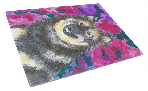 Buy this Finnish Lapphund Glass Cutting Board Large