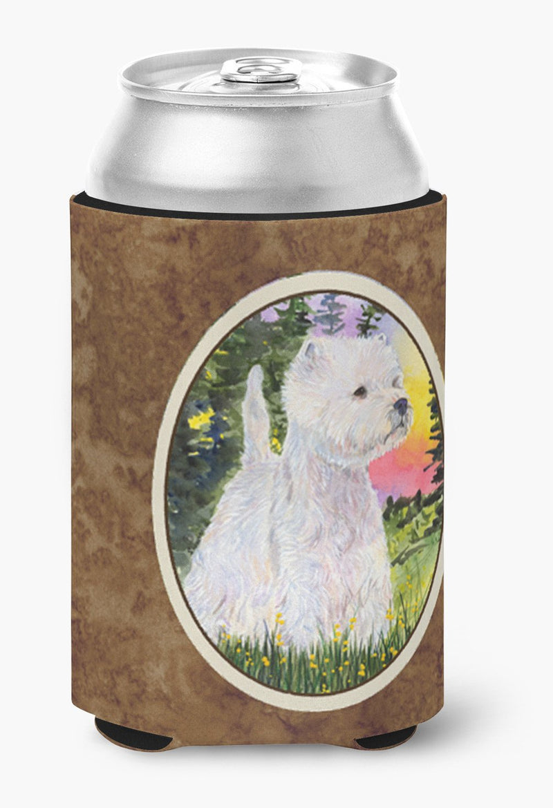 Buy this Westie Can or Bottle Beverage Insulator Hugger