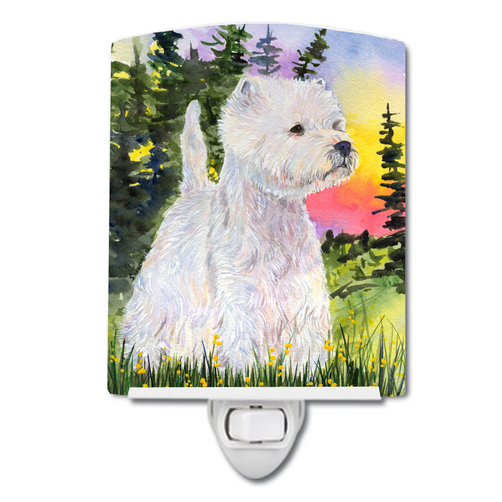 Buy this Westie Ceramic Night Light SS1067CNL