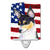 Buy this USA American Flag with Fox Terrier Ceramic Night Light SS4002CNL