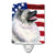 USA American Flag with Keeshond Ceramic Night Light SS4051CNL by Caroline's Treasures