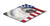 USA American Flag with Keeshond Mouse Pad, Hot Pad or Trivet by Caroline's Treasures