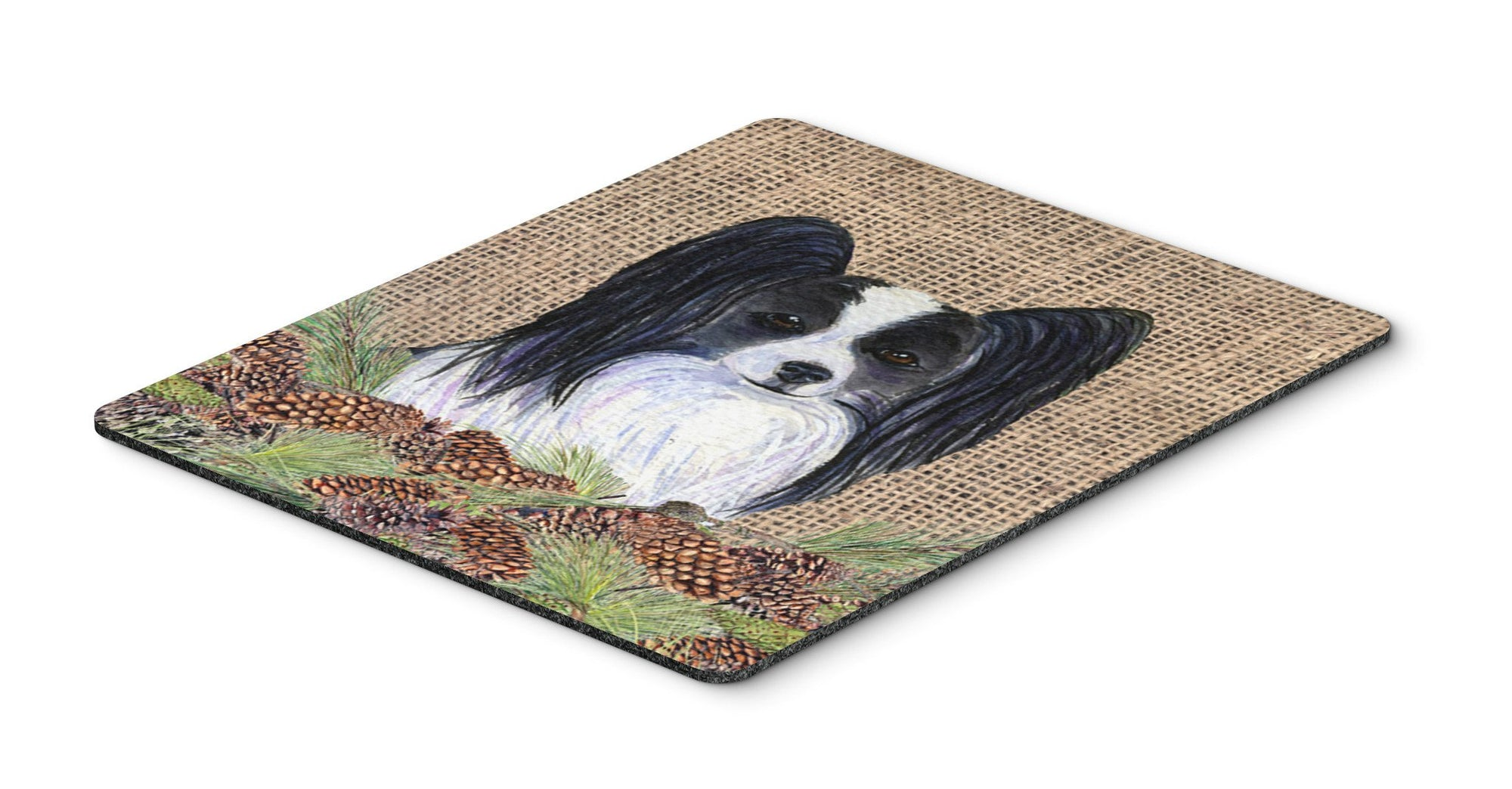 Papillon Mouse Pad, Hot Pad or Trivet by Caroline's Treasures