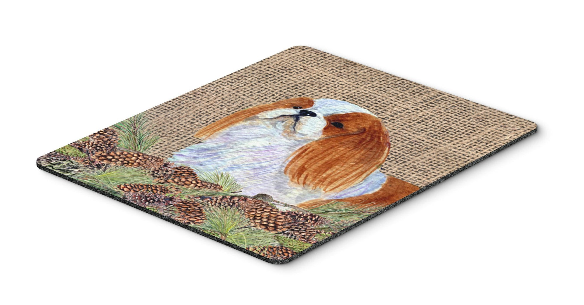 English Toy Spaniel Mouse Pad, Hot Pad or Trivet by Caroline's Treasures