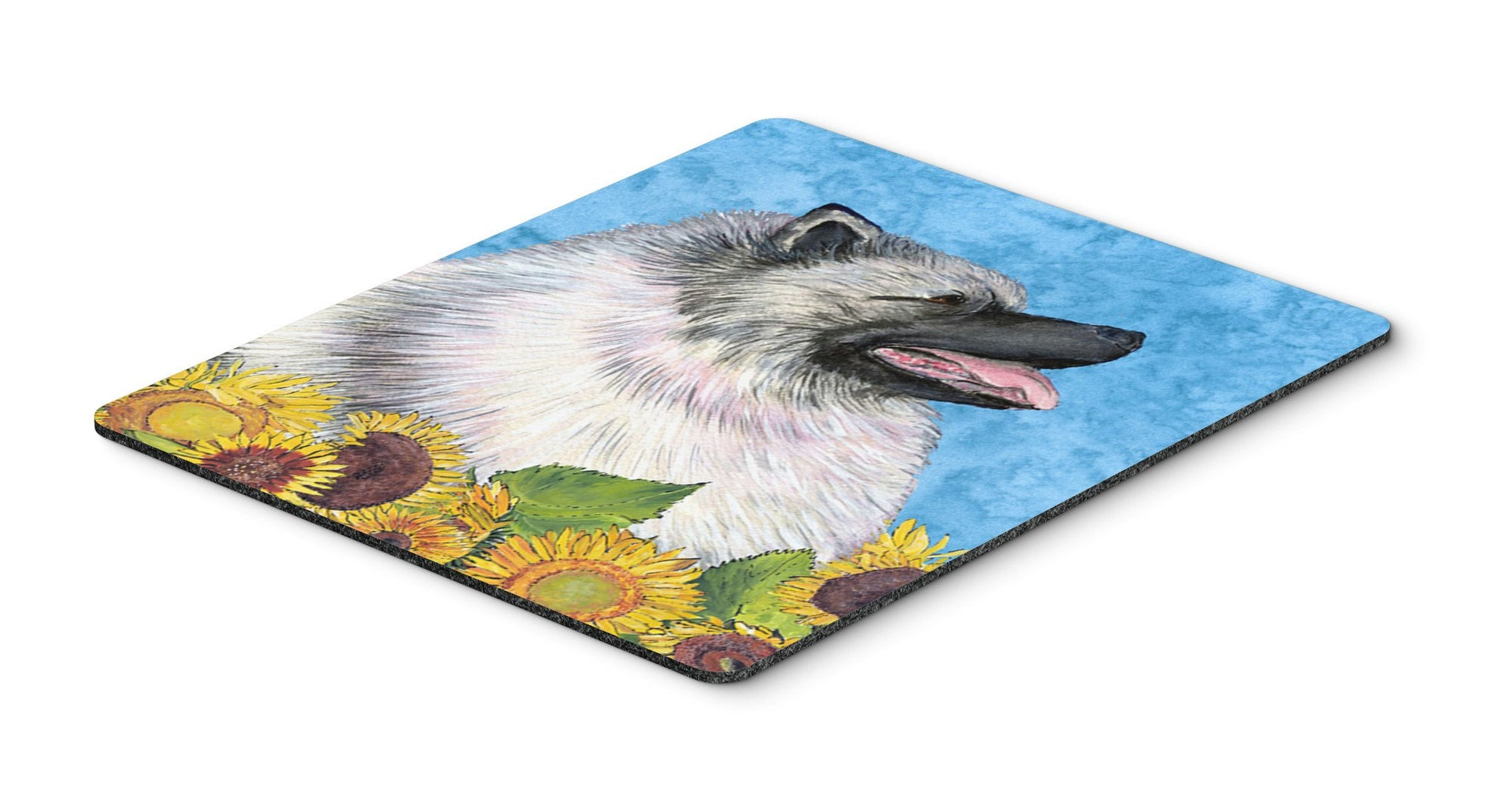 Keeshond Mouse Pad, Hot Pad or Trivet by Caroline's Treasures