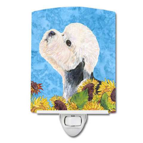 Buy this Dandie Dinmont Terrier in Summer Flowers Ceramic Night Light SS4136CNL