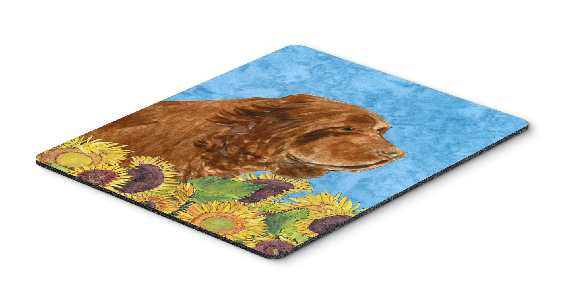 Sussex Spaniel Mouse Pad, Hot Pad or Trivet by Caroline's Treasures