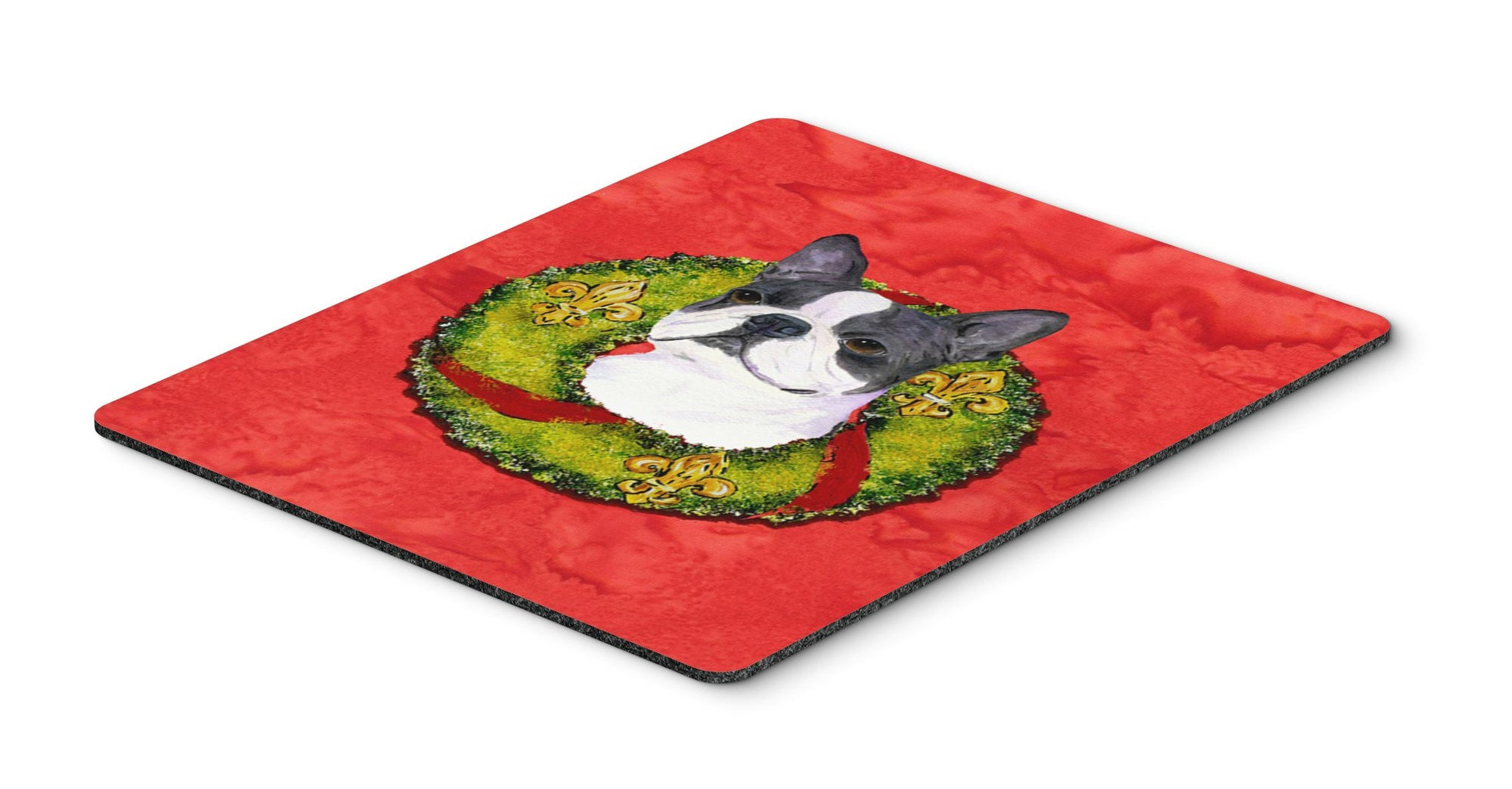 Boston Terrier Mouse Pad, Hot Pad or Trivet by Caroline's Treasures