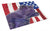 Buy this USA American Flag with Skye Terrier Glass Cutting Board Large
