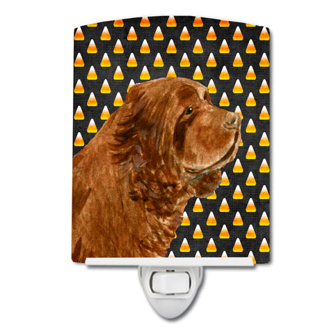 Buy this Sussex Spaniel Candy Corn Halloween Portrait Ceramic Night Light SS4303CNL
