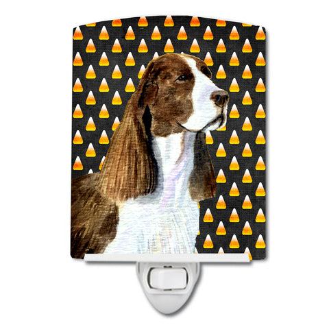 Buy this Springer Spaniel Candy Corn Halloween Portrait Ceramic Night Light SS4306CNL