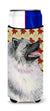 Keeshond Fall Leaves Portrait Ultra Beverage Insulators for slim cans SS4368MUK by Caroline's Treasures