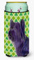 Buy this Skye Terrier St. Patrick's Day Shamrock Portrait  Tall Boy Beverage Insulator Beverage Insulator Hugger