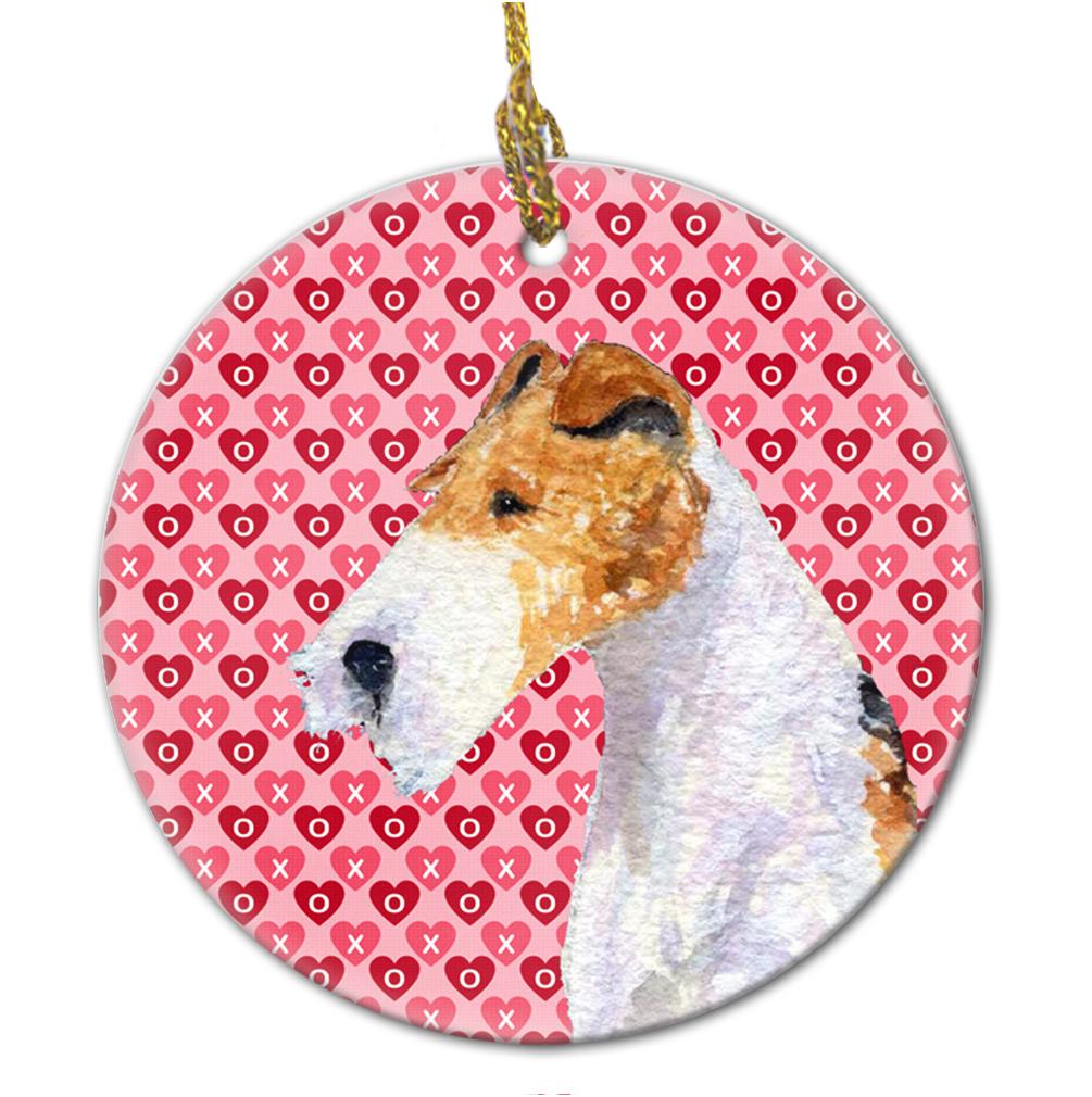 Fox Terrier Ceramic Ornament by Caroline's Treasures