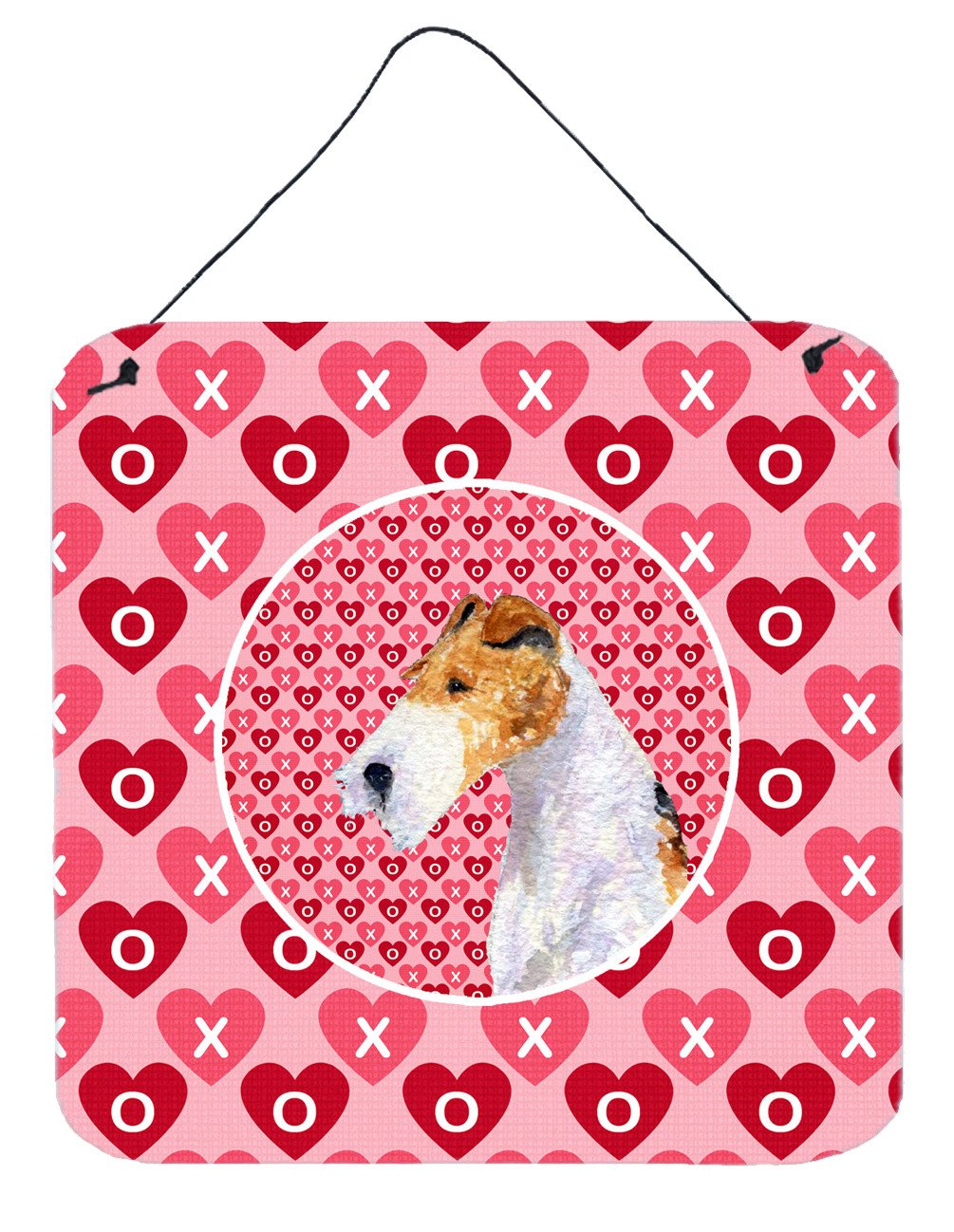 Fox Terrier  Aluminium Metal Wall or Door Hanging Prints by Caroline's Treasures