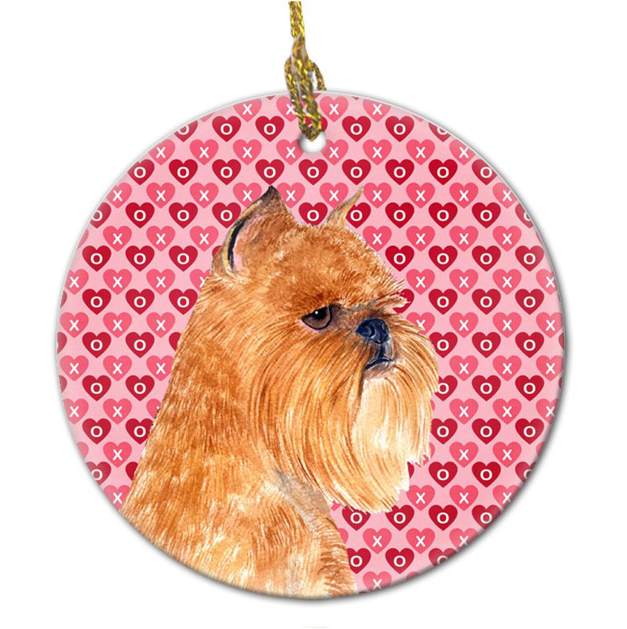 Buy this Brussels Griffon Ceramic Ornament