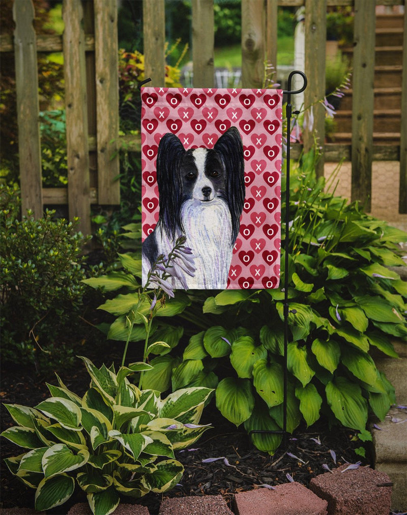 Buy this Papillon Hearts Love and Valentine's Day Portrait Flag Garden Size