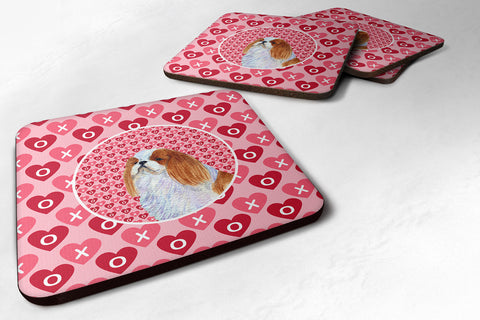 Buy this Set of 4 English Toy Spaniel  Foam Coasters