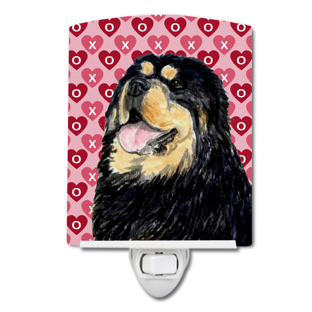 Buy this Tibetan Mastiff Hearts Love Valentine's Day Ceramic Night Light SS4512CNL