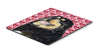 Buy this Tibetan Mastiff Hearts Love and Valentine's Day Mouse Pad, Hot Pad or Trivet
