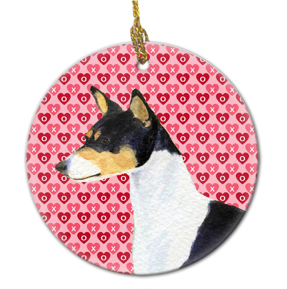 Basenji  Ceramic Ornament by Caroline's Treasures