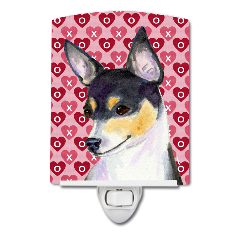 Buy this Chihuahua Hearts Love and Valentine's Day Portrait Ceramic Night Light SS4518CNL
