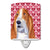 Buy this Basset Hound Hearts Love and Valentine's Day Portrait Ceramic Night Light SS4528CNL