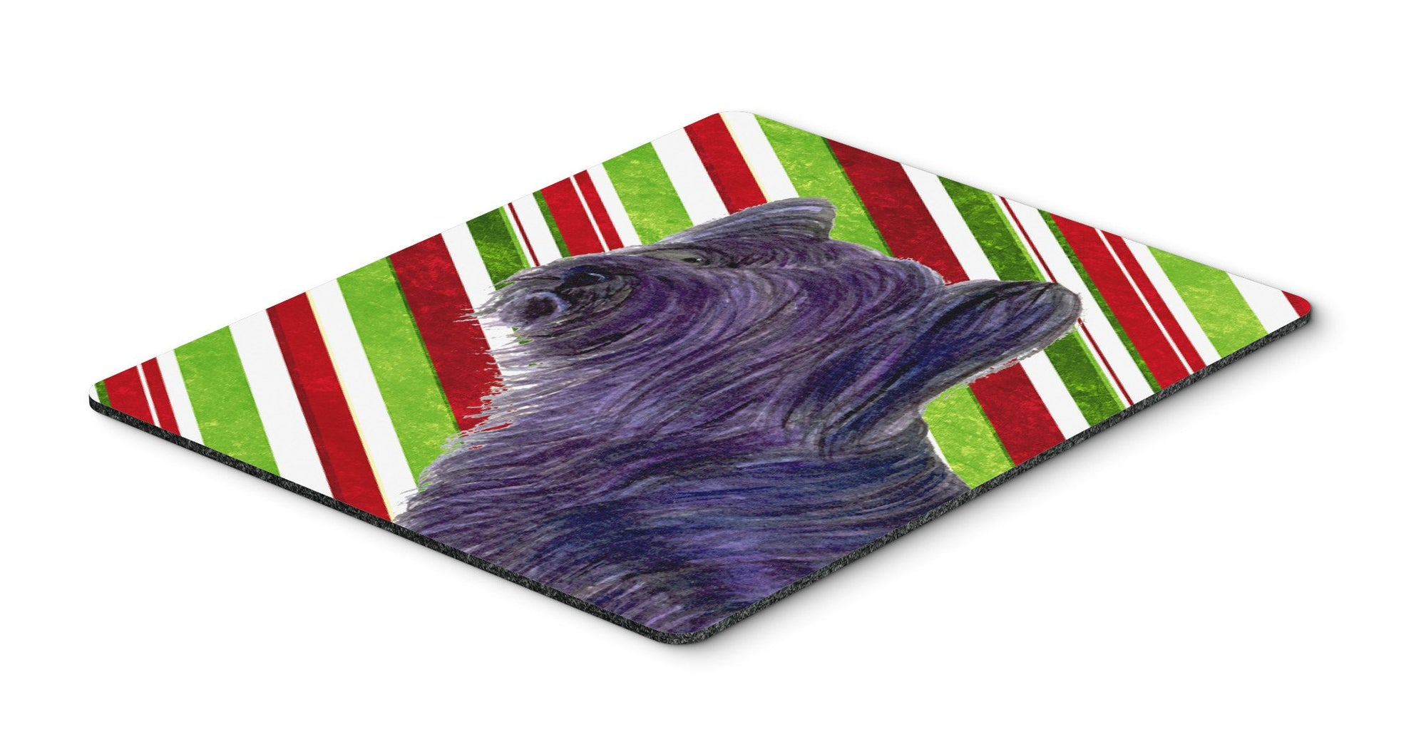Skye Terrier Candy Cane Holiday Christmas Mouse Pad, Hot Pad or Trivet by Caroline's Treasures