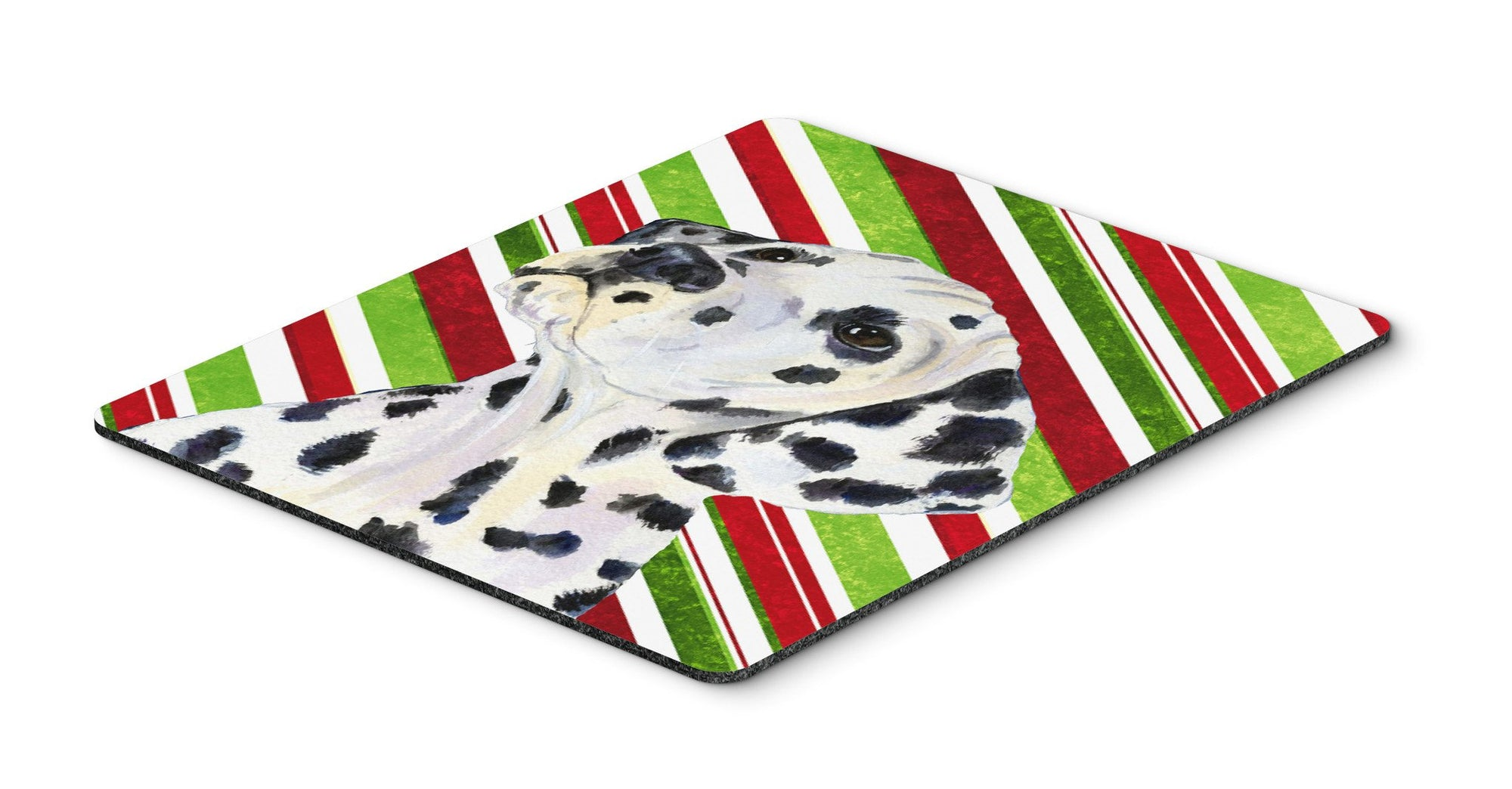 Dalmatian Candy Cane Holiday Christmas Mouse Pad, Hot Pad or Trivet by Caroline's Treasures