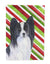 Buy this Papillon Candy Cane Holiday Christmas Flag Garden Size