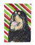 Tibetan Mastiff Candy Cane Holiday Christmas Flag Garden Size by Caroline's Treasures